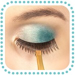 use tweezers to help place strip lashes