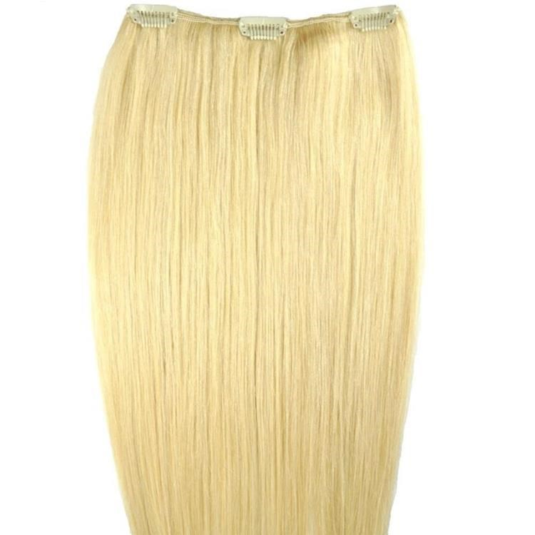 Multi blonde hair extensions