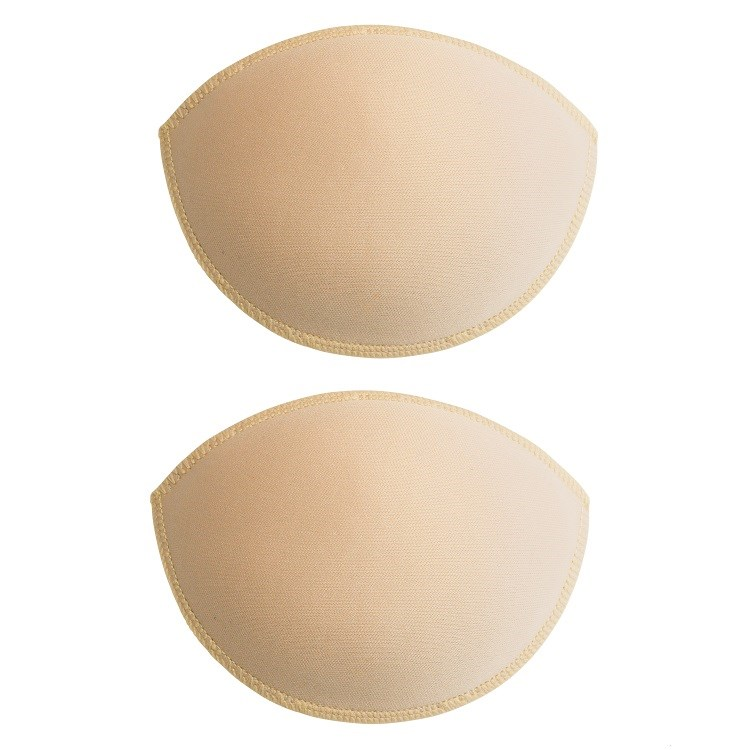 Nude gel insert foam breast enhancers