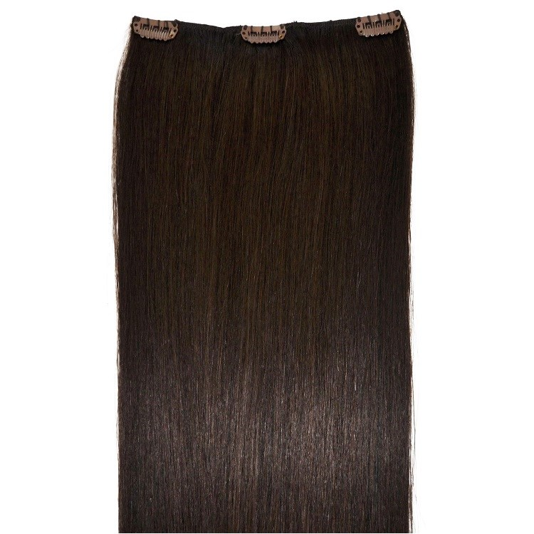 very dark brown hair extensions